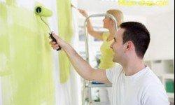 Какая краска лучше для стен и потолков