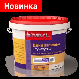 Структурная силиконовая штукатурка 16 кг MVL«Барашек»