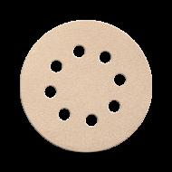 Наждачный круг для сухой шлифовки Smirdex 510. Диаметр 125 мм. Зерно: 40-800.