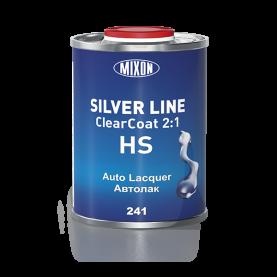 Автолак Silver Line 0,8 л + отвердитель Clearcoat HS 241