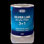 Акриловый грунт 0,8л Silver Line Mixon 3+1