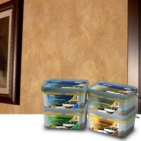 Декоративная краска с перламутром и жемчужными вкраплениями, 2 л Fioritura De Luxe