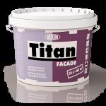 Акрил-латексная фасадная краска 10 л Mixon Titan Facade