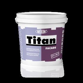 Акрил-латексная фасадная краска 1 л Mixon Titan Facade