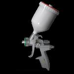 Покрасочный пистолет с монометром SAPPHIRE H-3000 LVMP