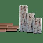 Маскировочная бумага крафт. 60 см х 200 м. Prody Kraft Virgin Fibre