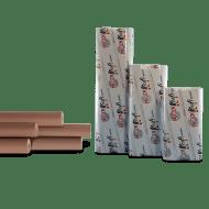 Маскировочная бумага крафт. 45 см х 200 м. Prody Kraft Recycled