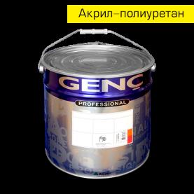 Акрил-полиуретановый лак VA500. 25 л. Глубокоматовый. Genc Acrylic Varnish - 500