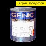 Акрил-полиуретановый лак VA510. 3 кг Genc Acrylic Varnish - 510