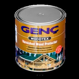 Лак морилка для дерева, 0,75 л алкидная Genc Varnished Wood Protector