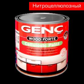 Нитроцеллюлозная эмаль 2,5 кг. Матовая. Genc NC Paint White BN100.00/10