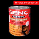 Нитроцеллюлозный лак 3 кг. Сатиновый. Genc Cellulosic Varnish