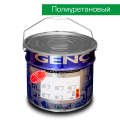 Полиуретановая белая эмаль CP558-25-1. 12 кг. Матовая. Genc PU White Converter CP558-25-1