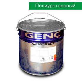 Полиуретановая белая краска BP700. 20 кг. Полуматовая. Genc PU Panel Door Topcoat 700