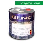 Полиуретановая белая краска BP700. 5 кг. Полуматовая. Genc PU Panel Door Topcoat 700