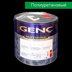 Полиуретановая белая краска BP700. 5 кг. Полуматовая. Genc PU Panel Door Topcoat 700